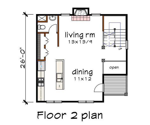 Dream House Plan - Traditional Floor Plan - Main Floor Plan #79-145