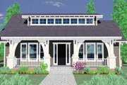 Craftsman Style House Plan - 3 Beds 2.5 Baths 1914 Sq/Ft Plan #509-22 Exterior - Other Elevation