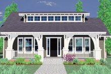 Craftsman Exterior - Other Elevation Plan #509-22