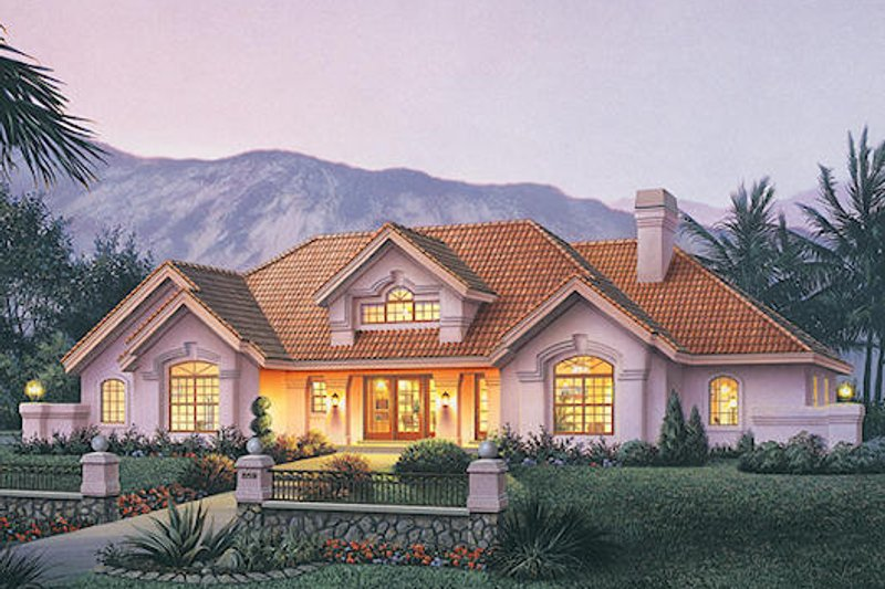 Traditional Exterior - Front Elevation Plan #57-360