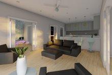 Architectural House Design - Farmhouse Interior - Family Room Plan #126-234