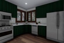 House Design - Cabin Interior - Kitchen Plan #1060-24