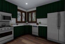 House Design - Cabin Interior - Kitchen Plan #1060-24