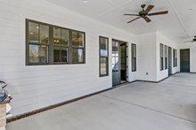 Dream House Plan - Farmhouse Exterior - Outdoor Living Plan #63-430