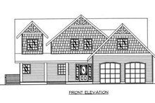Dream House Plan - Bungalow Exterior - Other Elevation Plan #117-546