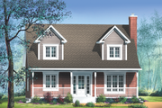 Farmhouse Style House Plan - 3 Beds 1.5 Baths 1564 Sq/Ft Plan #25-221 Exterior - Front Elevation