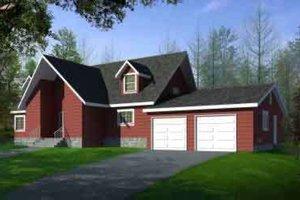 Modern Exterior - Front Elevation Plan #1-1480