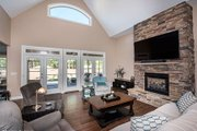Craftsman Style House Plan - 4 Beds 3 Baths 2863 Sq/Ft Plan #929-7 Interior - Family Room