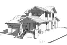 House Design - Craftsman Exterior - Front Elevation Plan #895-100