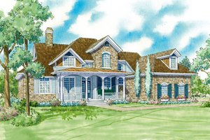 Traditional Exterior - Front Elevation Plan #930-11
