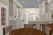 European Style House Plan - 4 Beds 3 Baths 2253 Sq/Ft Plan #56-178