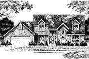European Style House Plan - 3 Beds 2.5 Baths 2227 Sq/Ft Plan #328-132