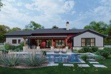 Architectural House Design - Farmhouse Exterior - Rear Elevation Plan #120-274