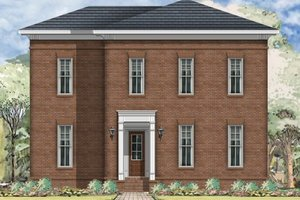 Traditional Exterior - Front Elevation Plan #424-291
