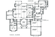 Ranch Style House Plan - 4 Beds 3.5 Baths 3258 Sq/Ft Plan #935-6 Floor Plan - Main Floor Plan