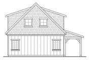 Craftsman Style House Plan - 0 Beds 0 Baths 1374 Sq/Ft Plan #124-891 Exterior - Rear Elevation