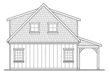 House Plan Design - Craftsman Exterior - Rear Elevation Plan #124-891