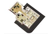 Victorian Style House Plan - 3 Beds 2 Baths 2562 Sq/Ft Plan #25-4691 Floor Plan - Upper Floor Plan