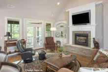 Traditional Interior - Family Room Plan #929-792