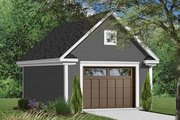 Country Style House Plan - 0 Beds 0 Baths 304 Sq/Ft Plan #23-2455 Exterior - Front Elevation