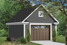 Country Exterior - Front Elevation Plan #23-2455