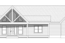 Architectural House Design - Country Exterior - Front Elevation Plan #932-60