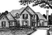 Colonial Style House Plan - 3 Beds 2.5 Baths 2132 Sq/Ft Plan #310-804 Exterior - Front Elevation
