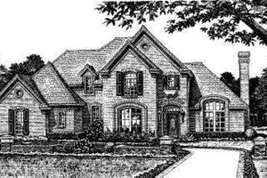 Colonial Exterior - Front Elevation Plan #310-804