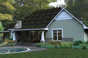 Craftsman Style House Plan - 3 Beds 3 Baths 2267 Sq/Ft Plan #120-181 Exterior - Other Elevation