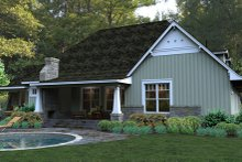 Craftsman Exterior - Other Elevation Plan #120-181