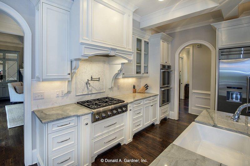 European Interior - Kitchen Plan #929-855 - Houseplans.com