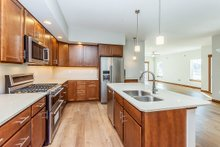 Home Plan - Ranch Interior - Kitchen Plan #70-1473