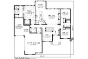 Ranch Style House Plan - 3 Beds 2 Baths 2291 Sq/Ft Plan #70-1120