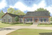 Country Style House Plan - 3 Beds 3 Baths 2921 Sq/Ft Plan #923-49