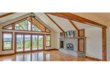 Craftsman Interior - Family Room Plan #124-988