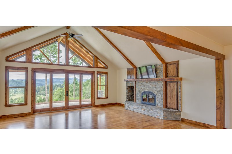 Dream House Plan - Craftsman Interior - Family Room Plan #124-988