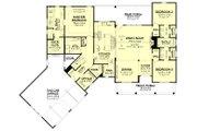 Farmhouse Style House Plan - 3 Beds 2.5 Baths 2301 Sq/Ft Plan #430-231 Floor Plan - Main Floor Plan