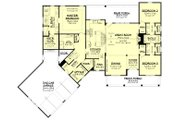 Farmhouse Style House Plan - 3 Beds 2.5 Baths 2301 Sq/Ft Plan #430-231 Floor Plan - Main Floor