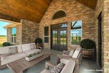 Ranch Exterior - Covered Porch Plan #929-1002