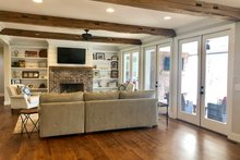Dream House Plan - Farmhouse Interior - Family Room Plan #928-350