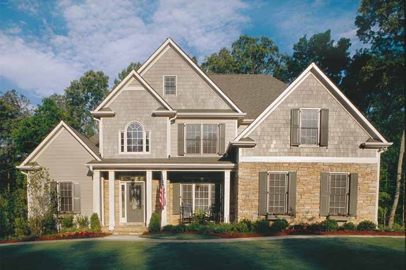 House Plan Design - Country Exterior - Front Elevation Plan #927-8