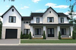 Architectural House Design - Farmhouse Exterior - Front Elevation Plan #23-2742