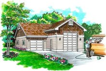 House Plan Design - Traditional Exterior - Front Elevation Plan #47-503