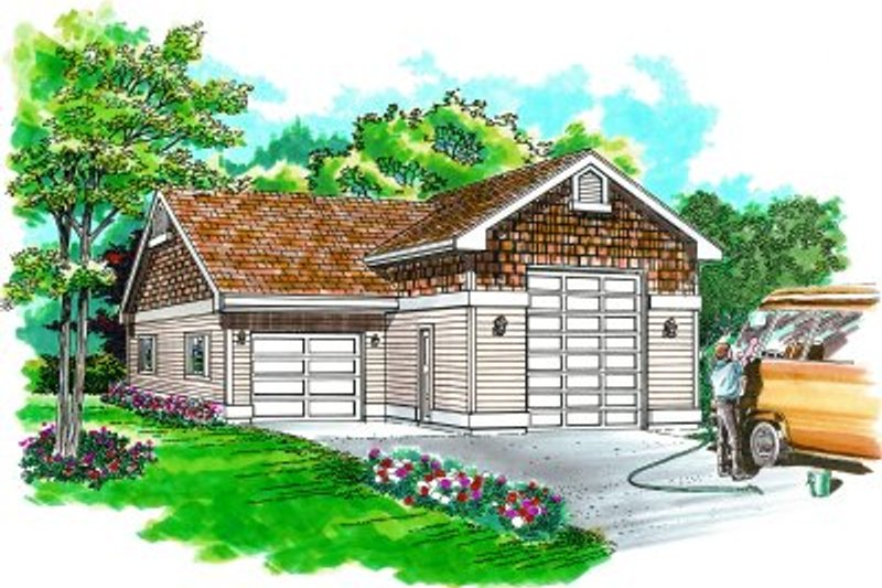 Traditional Exterior - Front Elevation Plan #47-503