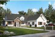 Farmhouse Style House Plan - 4 Beds 3 Baths 2252 Sq/Ft Plan #928-356 Exterior - Front Elevation