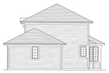 Home Plan - Right Side Elevation