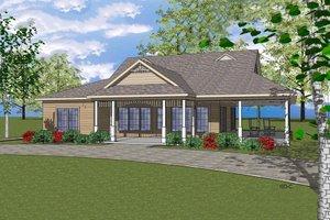 Craftsman Exterior - Front Elevation Plan #8-299