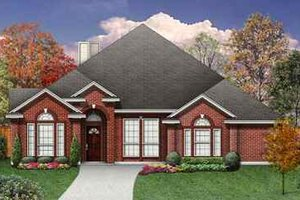 Home Plan - Traditional Exterior - Front Elevation Plan #84-138