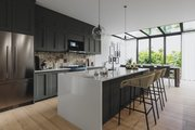 Farmhouse Style House Plan - 4 Beds 3.5 Baths 3164 Sq/Ft Plan #23-2691 Interior - Kitchen