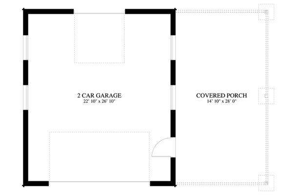 Dream House Plan - Traditional Floor Plan - Main Floor Plan #1060-96